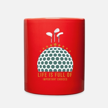 Funny Golf Golf Golfball Funny Sayings Sports Gift Idea - Full Color Mug