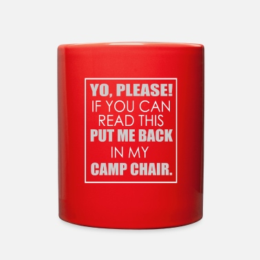 Read Yo, please if you can read this, put me back in my - Full Color Mug