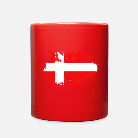 Tourist Mugs & Drinkware - Denmark Concert - Full Color Mug red