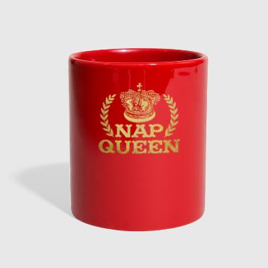 Nap Queen Funny Napping Gift - Full Color Mug