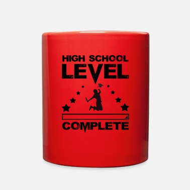 High School Graduate Gamer High School Graduate Graduation - Full Color Mug