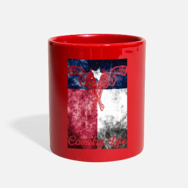 Country Life Country Life Gun Rights - Full Color Mug