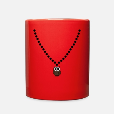 Nerdsbyleo Owl Necklace - Full Color Mug