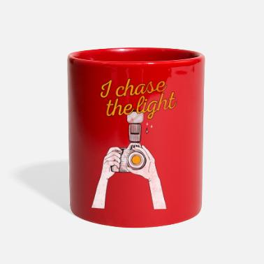 Chase I Chase The Light Photography Lover Camera Lens - Full Color Mug