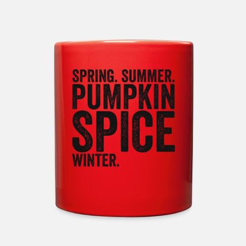 01900c7f6777 Full Color MugSpring Summer Pumpkin Spice Winter TShirt Fall Season. 14th  Floor Apparel