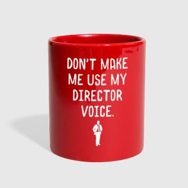 Manager Funny Director Boss Manager Employee Work Supervisor Appreciation Design - Full Color Mug