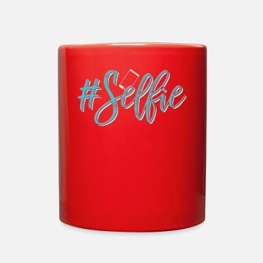Selfie #Selfie - Full Color Mug