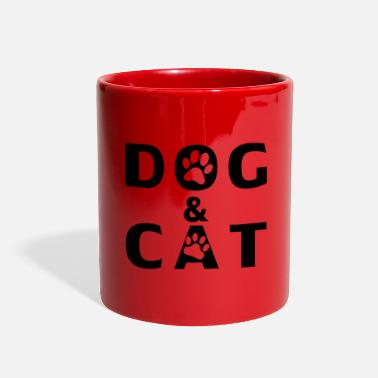 Dog dog and cat lovers - Full Color Mug