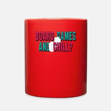 Board Game Board Games and Chill Board Gamer - Full Color Mug