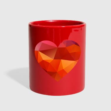 valentines day heart 01 - Full Color Mug