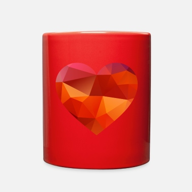 Love valentines day heart 01 - Full Color Mug