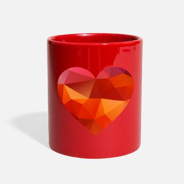 Love valentines day heart - Full Color Mug