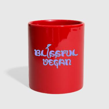 blissful vegan - Full Color Mug