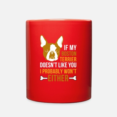 Boston &amp My boston terrier - Full Color Mug