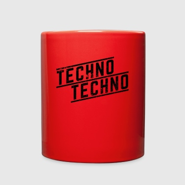 Techno Techno Techno - Full Color Mug