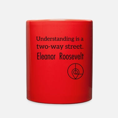 Shop leipzig shop quote series eleanor roosevelt - Full Color Mug