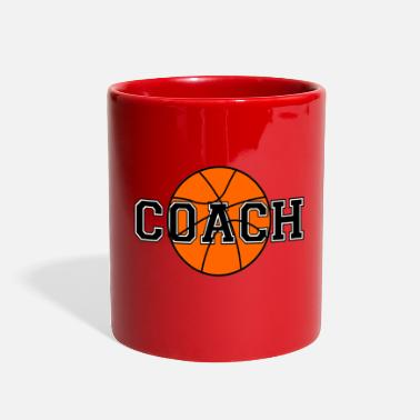 Coach Basketball Coach - Full Color Mug