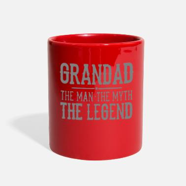 Grandad Grandad The Man The Myth The Legend - Full Color Mug