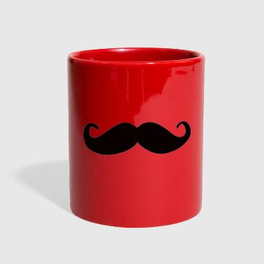 mustache - Full Color Mug