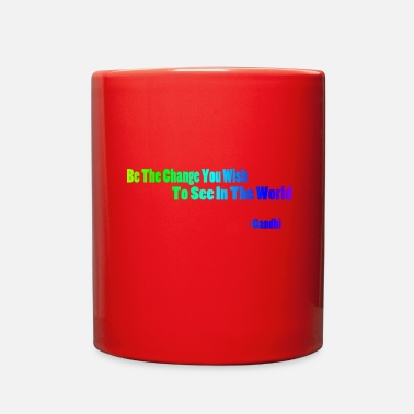 Motto Motto by Gandhi - Full Color Mug