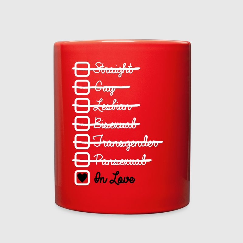 Love Has No Labels In Love LGBT - Full Color Mug