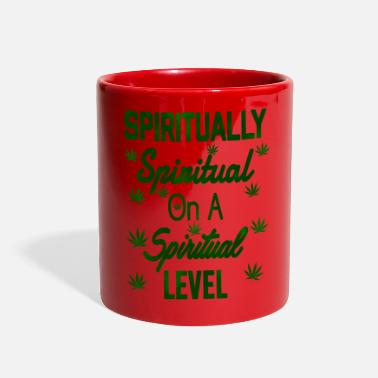 Spiritual Spiritually Spiritual on a Spiritual Level - Full Color Mug