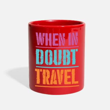Typo Vintage text travel quote - Full Color Mug