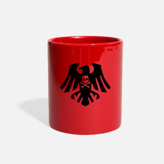 Shark Mugs & Drinkware - Pirate Crowdrapeau pirate - Full Color Mug red