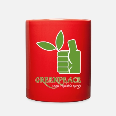Greenpeace Greenpeace 100 renewable energy - Full Color Mug