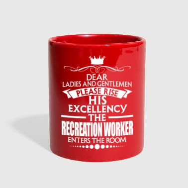 RECREATION WORKER - EXCELLENCY - Full Color Mug