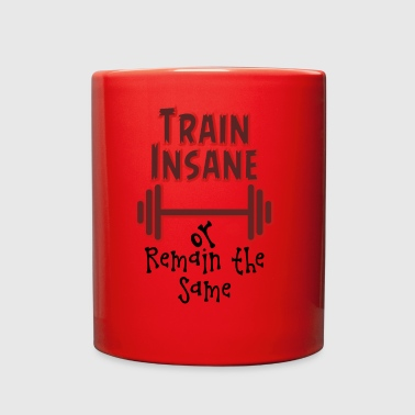 Train Insane - Full Color Mug