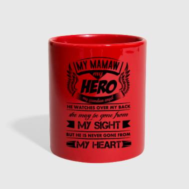 My Hero My Mamaw - Full Color Mug