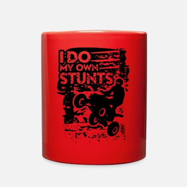 Stunt ATV Quad My Own Stunts - Full Color Mug