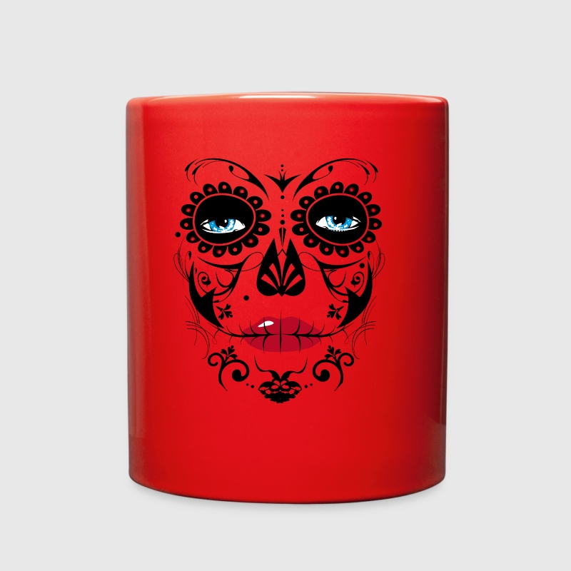 Sugar Skull Makeup - Full Color Mug