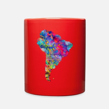 South America South America map - Full Color Mug