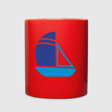 Sailboat - Full Color Mug
