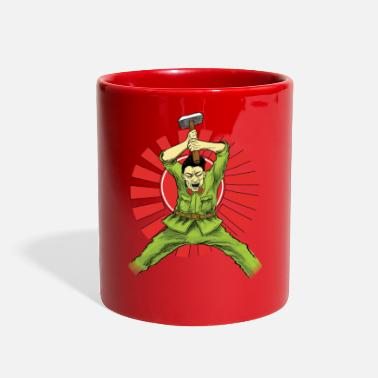 Asian The Asian Warrior - Full Color Mug