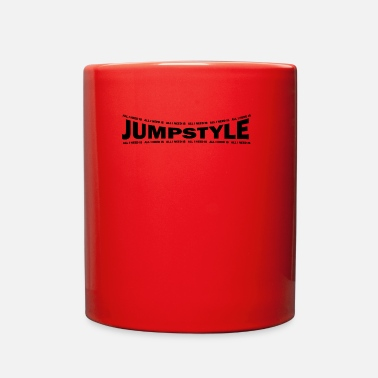 Jumpstyle LOVE TECHNO GESCHENK goa pbm JUMPSTYLE extasy - Full Color Mug