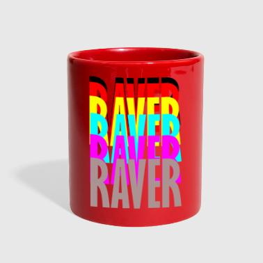 raver raver raver raver - Full Color Mug