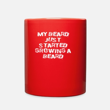 Beard Funny My Beard Quote - Full Color Mug