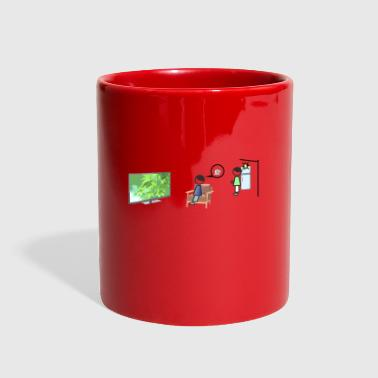on fire - Full Color Mug