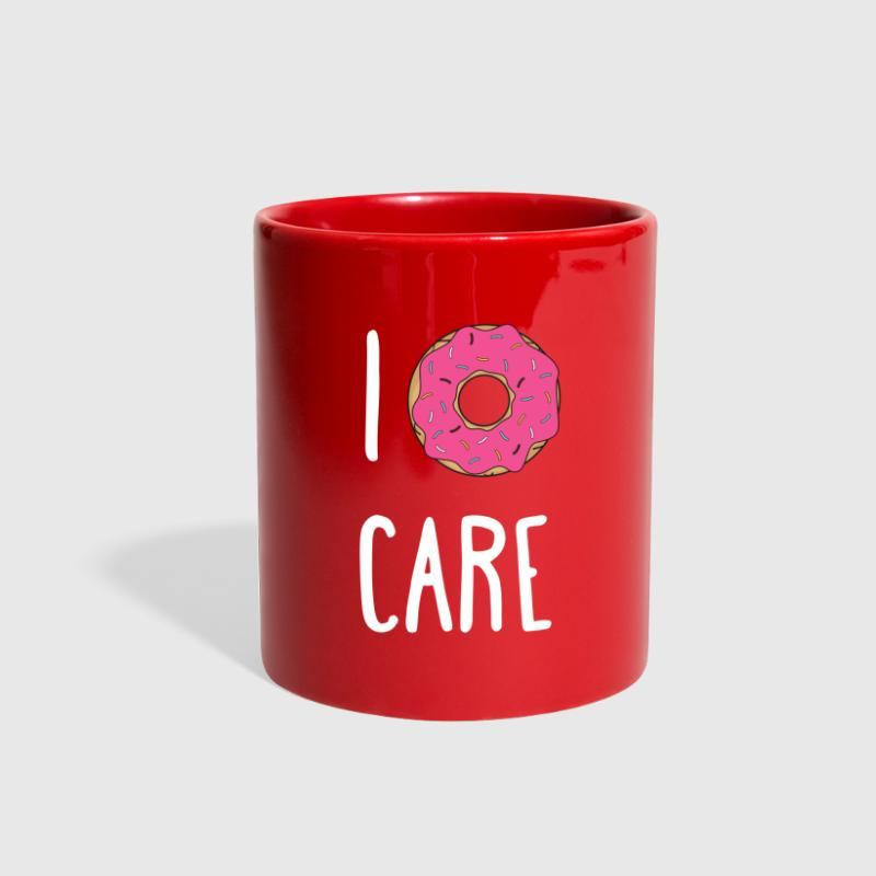 I Donut Care Funny Unique Gift T-shirt - Full Color Mug