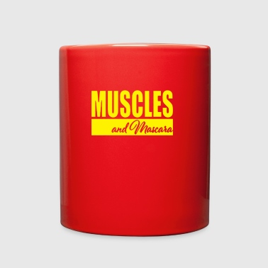 Muscles and Mascara - Full Color Mug