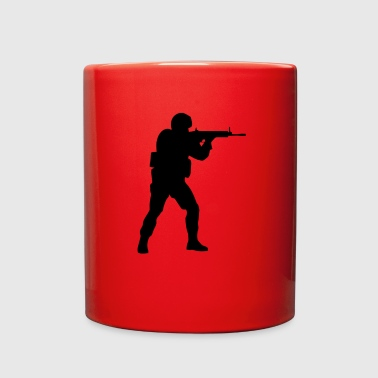 Counter Strike Counter Strike soldier logo - Full Color Mug