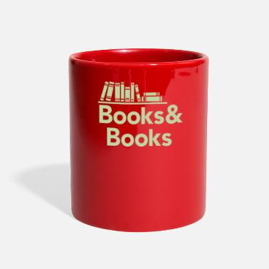 Book Books and books - Full Color Mug