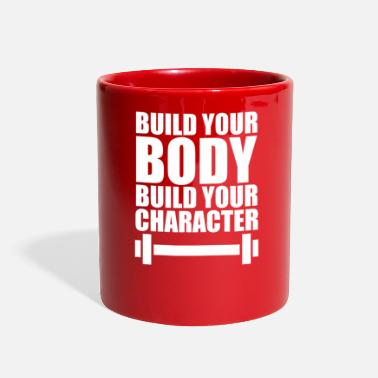 Body Building Build Your Body Build Your - Full Color Mug
