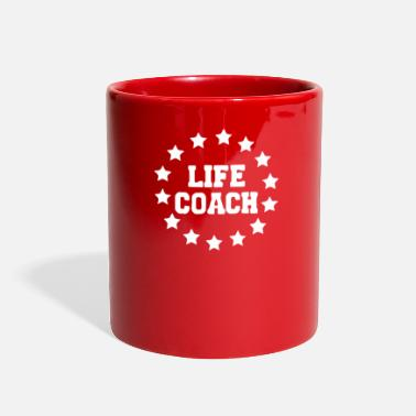 Coach Life Coach funny tshirt - Full Color Mug