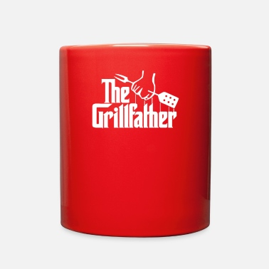 The Grillfather Funny BBQ - Full Color Mug