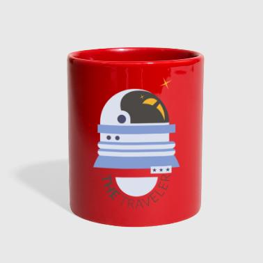 Space Travel The Space Traveler - Full Color Mug