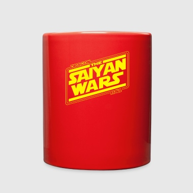 Saiyan Saiyan Wars - Full Color Mug